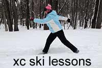 Expert Cross Country Ski Lessons