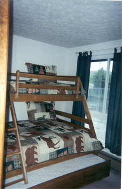 Second Bedroom (Double with Single on Top & Under Double)