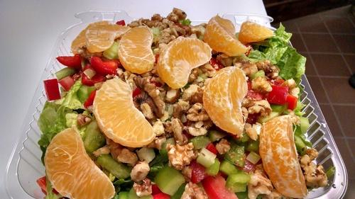 Mandarin Walnut Salad