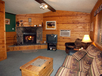 Knotty Pine Cabins