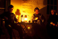 Candle light tour of Fort Stanton