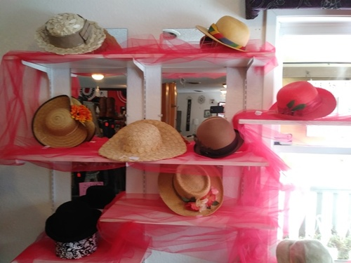 Rose of Sharon vintage hats