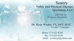 SENTRY SAFETY & PHYSICAL THERAPY SPECIALISTS, LLC