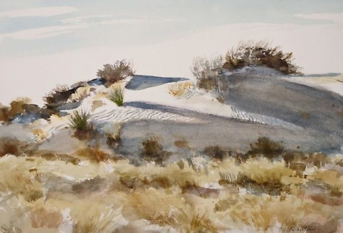 ''Hidden Dune at White Sands'' by Michael Hurd