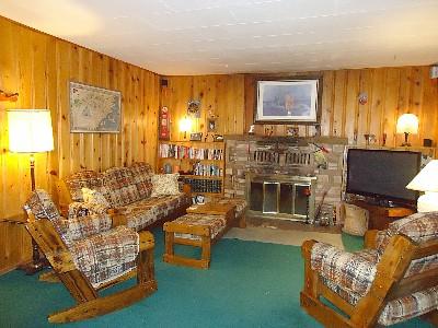 Living Room in Sandy's Cottage