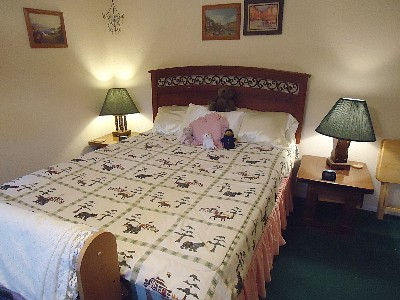 Bedroom in Sandy's Cottage