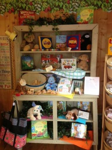 Inside of Kinner Korner Children's Shop