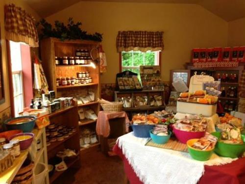 Inside of Emma's Kitchen