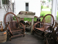Or sit a spell on our porch and enjoy the peaceful ambience of our friendly town.