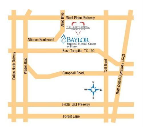 Image Result For Baylor Scott And White Temple Hospital Map