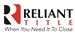 RELIANT TITLE - PLANO OFFICE*