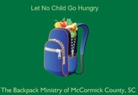 Backpack Ministry of McCormick County