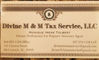 Divine M&M Tax Service, LLC
