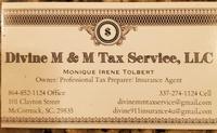 Divine M&M Tax Service, LLC