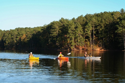 Enjoy the blueways around Lake Thurmond
