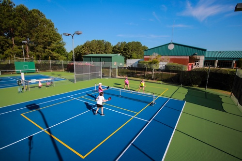 Do you enjoy the fastest growing sport in America? We have excellent Pickleball courts for you!