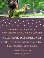 Salem Little Saints Christian Child Care Center