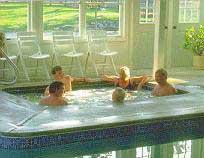 Colonial Village hot tub