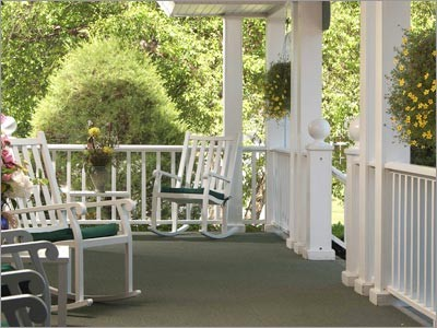 Juniper Hill Inn Porch