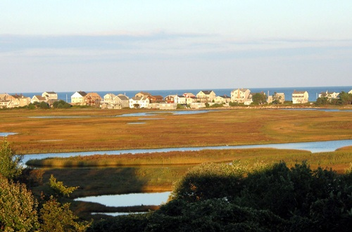 Mariner Resort view of the tidal marsh