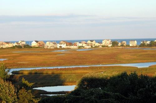 Mariner Resort view of the tidal marsh