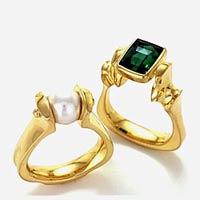 Swamp John's 18k rings