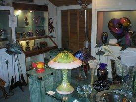 Swamp John's art glass