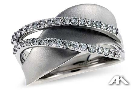 Coastal Jewelers Wave Ring