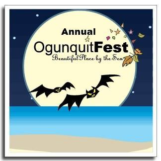 OgunquitFest Halloween theme logo - October
