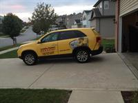 Have you seen our CertaPro car on the road yet?
