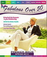 Fabulous Over 50 Magazine In Print & On Line