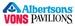 Albertsons, Vons & Pavilions
