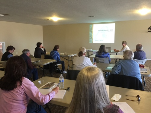 OHC offers great educational seminars across Oregon on the most important equine business and horse owner topics.