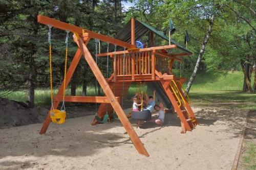 Kids Enjoying the Playground