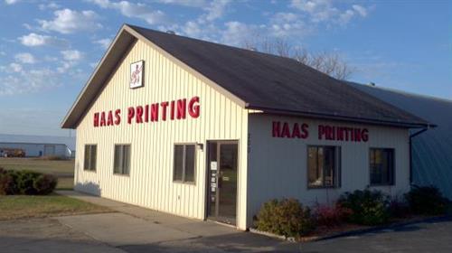 Haas Printing Inc. 300 Industrial Park Road, Park Rapids, MN