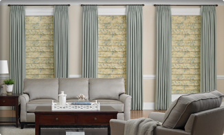 drapes over blinds roman media day blinds window coverings screens consultants designers