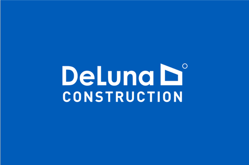 Logo Design for De Luna Construction