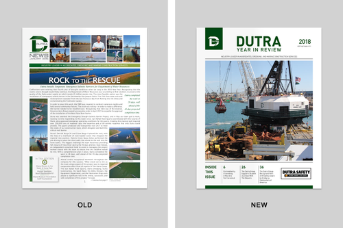 Newsletter Redesign for Dutra