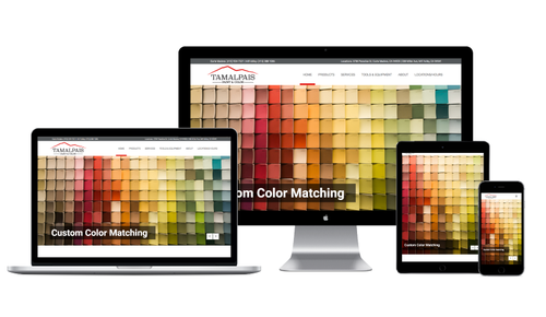 Website and Branding for Tamalpais Paint & Color