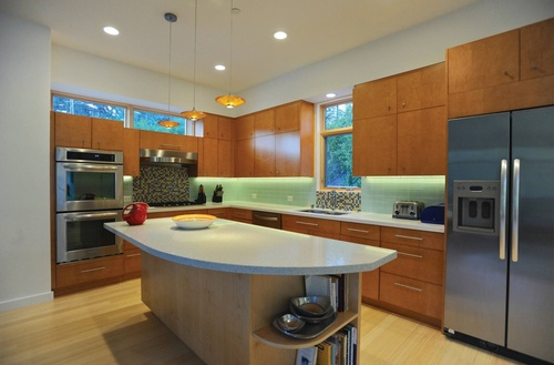 leepy Hollow Sustainable - LEED Certified Gold: Kitchen