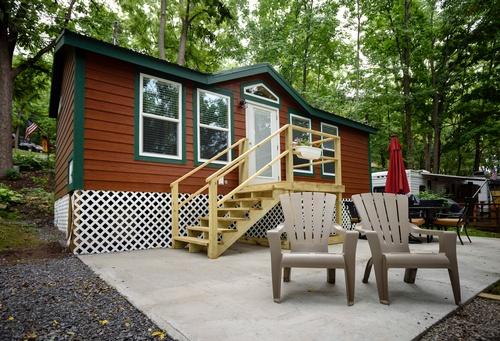 Cottage Rental at Conesus Lake Campground