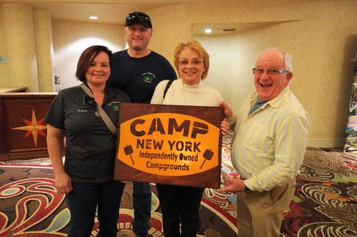 Fun at the CONY Exposition for the Outdoor Hospitality Industry & Trade Show