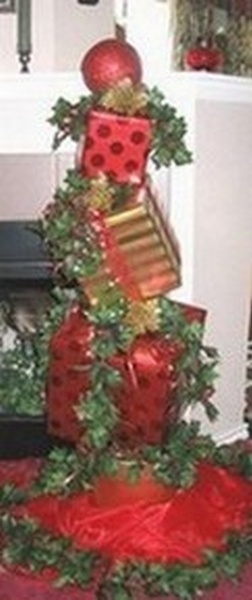 Christmas Packages-Large Plant Stand - To Order the Plant Stand: Click on ''Highlights'' then ''Plant Stands''