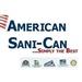 American Sani Can