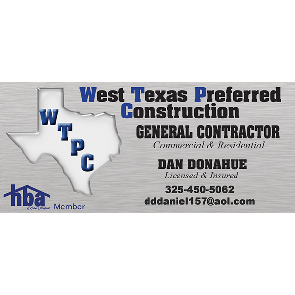 West Texas Preferred Construction