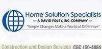 David Foley Inc. dba Home Solution Specialists