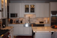 Kitchen Mountain White Danby Marble