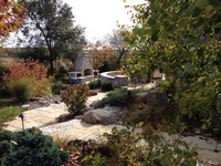 Beautiful Hardscaping & Plantings