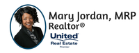 Mary Jordan, Realtor (United Real Estate Premier)