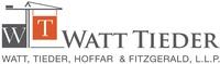 Watt, Tieder, Hoffar & Fitzgerald, L.L.P.